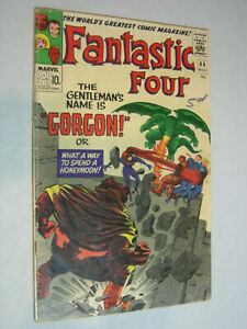 Fantastic Four #44 FA/G 1st appearance of Gorgon LOOK
