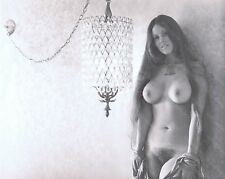 "Hendrickson 7 3/4 x 9 3/4 "" B&W PHOTO SULTRY VIXEN ENCHANTRESS NUDE"
