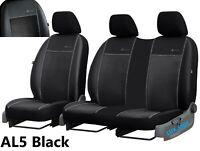 VITO 2003 ON 109 CDI Heavy Duty Durable Black Waterproof Van Seat Covers Attractive Design 2+1