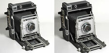 GRAFLEX CROWN GRAPHIC SPECIAL 4X5 PRESS/VIEW CAMERA XENAR f4.7 135mm-WORKS