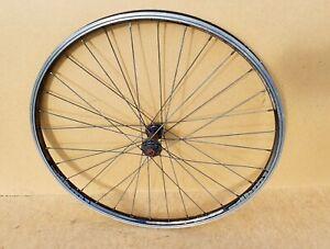 """DBM1 Front Mountain Bike Wheel 26"""" Black QR / Double Wall Rim Brake Replacement"""