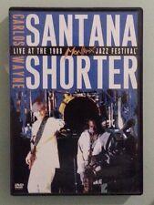 CARLOS SANTANA / WAYNE SHORTER LIVE AT THE 1988 MONTREUX FESTIVAL  DVD