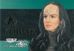 Star Trek The Next Generation Season 3 K'Ehleyr Embossed Card S18 Skybox 1995