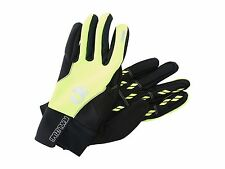NEW! Pearl Izumi SELECT Softshell Men's Gloves 14141209 Screaming Yellow X-Large