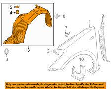 KIA OEM 14-16 Forte Koup-Front Fender Liner Splash Shield Left 86811A7200