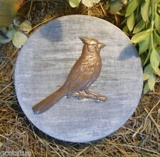 Cardinal  bluejay stepping stone mold