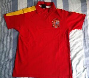 Spain Retro 1982 Home Football Shirt Medium Toffs