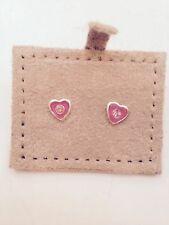 Pretty Stud Earrings With Heart Detail by Basics