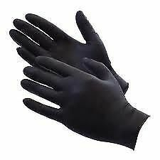 DISPOSABLE NITRILE GLOVES PANEL BEATING MECHANICS SAFETY BOX OF 100 L FREE POST