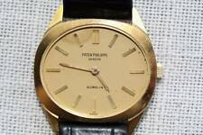 Vintage 18k yellow Gold Patek Philippe Oval Watch 1973 Ref 3581 Gubelin Swiss