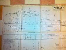 Plan de avión modelo eléctrico de espuma interior Electrolite