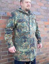 Original German Army Parka / Hooded Jacket ALL SIZES Camo Flecktarn Combat