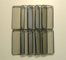 Lot of 10 TPU Soft Gel Skins Cases For Apple iPhone 4 GREY