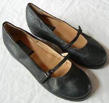 Deena & Ozzy Leather Wedge Mary Jane size 9