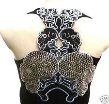 TATTOO Tiki Teschio Emo Punk Designer canotta camicia XS/S