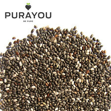 Whole Dark Chia Seeds 500g - Free UK Shipping