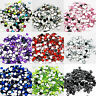 1000 Diamante Gems Flat Back Crystals Acrylic Rhinestone Sparkly Decoration Bead