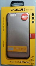 Casecube Magic Case For iPhone 6 Golden Sand Metallic Paint Brand New & Sealed