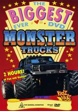 THE BIGGEST EVER MONSTER TRUCKS - EXTREME DEMOLITION ACTION DVD
