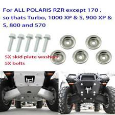 5 Skid Plate Washer + 5 Bolt Kit For Polaris UTV Ranger 800 RZR 1000 7556065 A