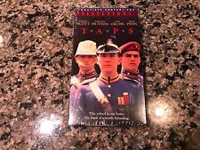 Taps New Sealed VHS! 1981 Military Drama! Top Gun 2 Days Of Thunder The Firm
