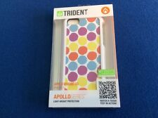 cell phone protective case, for iPhone 5 / 5S, multi color hard shell (Trident)