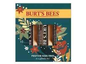 Burt's Bees Festive Kiss Trio 4.25 g/ea 792850909960