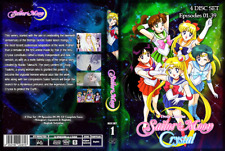 Sailor Moon Crystal Seasons 1-3 (Episodes 1-39) English Dubbed on DVD