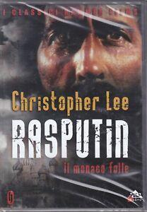 Dvd  RASPUTIN - IL MONACO FOLLE con Christopher Lee nuovo 1966