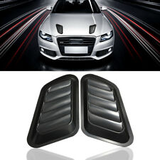 2x Universal Car Truck Decorative Air Flow Intake Scoop Bonnet Side Fender Vent