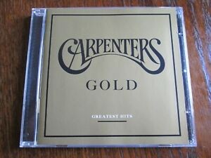 """THE CARPENTERS- """"GOLD-GREATEST HITS"""" ** ON 20-TRACK CD ** A&M 987 064-7. 2005."""
