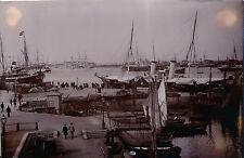 COPENHAGUE c. 1890 - Port Grands Voiliers Danemark - ALB 41