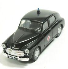 1/43 Rare Black Poland Kolekcja Prl-u Warszawa M20 Milicja Rescue Ambulance 1:43