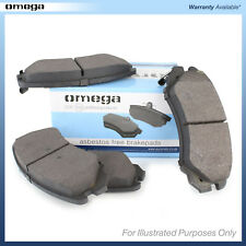 Genuine Omega Front / Rear Disc Brake Pads Set