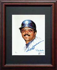 Reggie Jackson JSA Signed Framed 8x10 Ron Lewis Living Legends Photo Yanks Auto