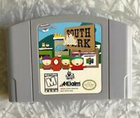N64 South Park Nintendo 64 Authentic Cartridge Cleaned & TESTED Free Ship!