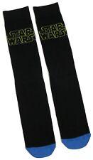 Hombre All Star Wars Clásico Diseño Logo Negro Calcetines Ru 6-11/39-45 Eur