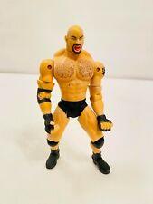 WCW ToyBiz 1999 Goldberg Wrestling Action Figure Displayed Only