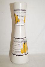 Kunstkeramik Vase abstraktes Design 50/60er Höhe ca.25,5 cm Bay Keramik 634-25