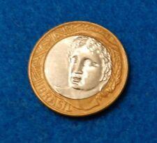 2009 Brazil Real - Fantastic Bi-Metallic Coin