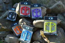 Crankbrothers Stamp 1 MTB Flatpedale Various Colors Large Size: 43-49