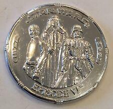 Star Wars Episode VI 6 Return Of The Jedi Luke Earth Vader Emperor Coin Medal