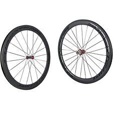 SUPERTEAM Ceramic Bearing 50mm Carbon Clincher Wheel Set Road Bike Carbon Wheels