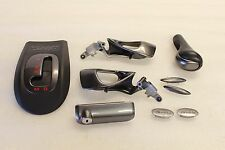 Porsche 996 Carrera 911 986 Door Panel Handle Shifter Shift Knob Gunmetal Kit