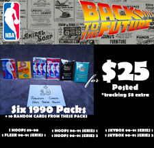 1990-91 MULTI-PACK OFFER: 6 Packets NBA Basketball Cards (1 ONLY)
