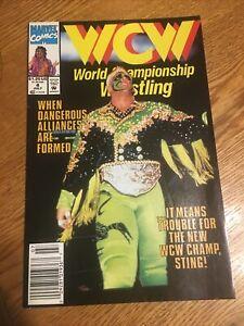 MARVEL COMICS: WCW WRESTLING #4.  STING. PM2