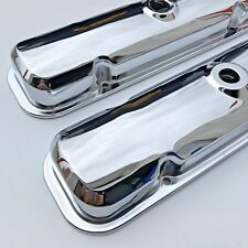 67-72 GTO FIREBIRD VALVE COVERS DRIPPERS 67-81 Pontiac 400 389 455 CHROME