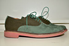 Cole Haan Oxford Leather Canvas Men's 10M