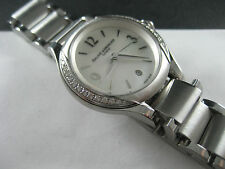 "BAUME MERCIER ILEA DIAMONDS .37CTW WATCH 8771 ""MINT"""