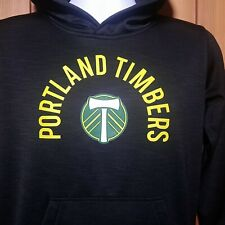Portland Timbers MLS Pullover Hoodie  Black Small Soccer
